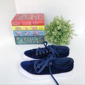 JOE BOXER Velvet Lo-Top Sneakers